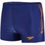 speedo Sports Logo Aquashort Men Navy/Sunset Orange